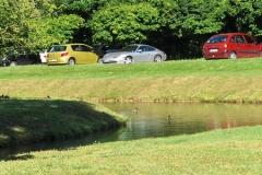 Park z ribnikom