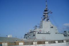 Vojaške ladje so v zadnjih letih v Kopru pogosti gostje.