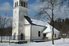 Babna Polica, cerkev sv. Antona Puščavnika