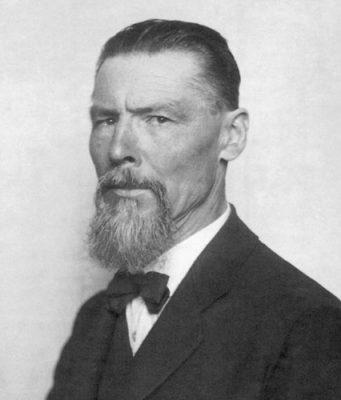 portret Jože Plečnik