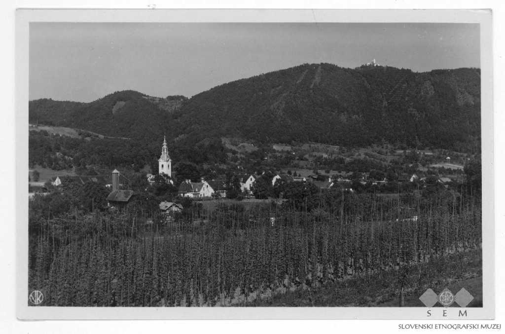 Postcard of Šmartno ob Paki Občina Šmartno ob Paki