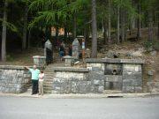 Vstop v park pred Rusko kapelico