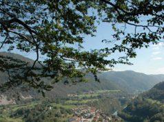 Most na Soči v objemu Soče in Idrijce