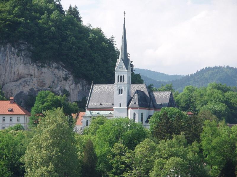 Gotska cerkev svetega Martina na Bledu