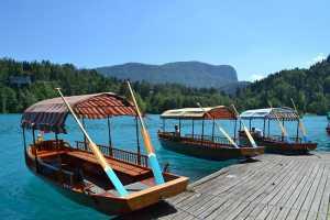 Pletna - tradicionalni blejski čoln