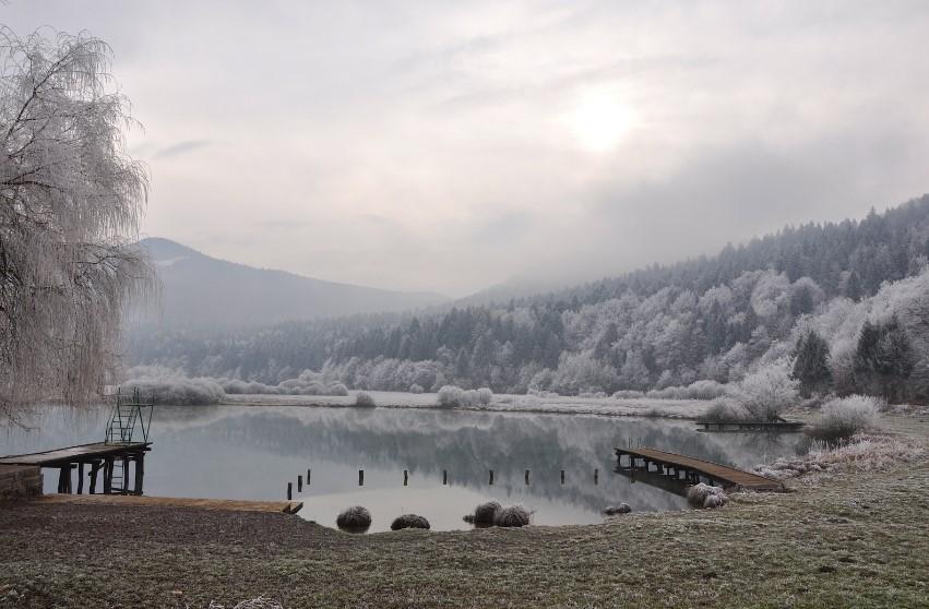 podpesko jezero 1 Podpeško, Krimsko ali Podkrimsko jezero