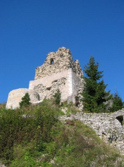 stari grad nad smlednikom Stari grad nad Smlednikom in sv.Tilen nad Repnjami