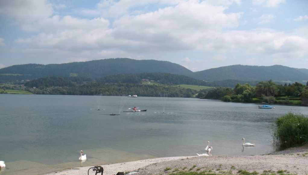 Rekreacija na velenjskem jezeru