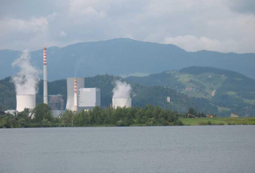 Termoelektrarna Šoštanj in pogrezajoč rudniški jašek