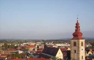 Pogled na mesto Ptuj