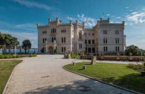 Grad Miramar, Italija